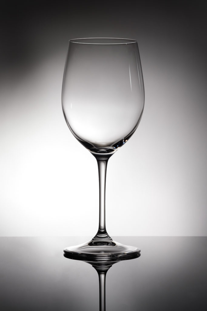 Chardonnay Weinglas