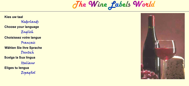 The Wine Labels World