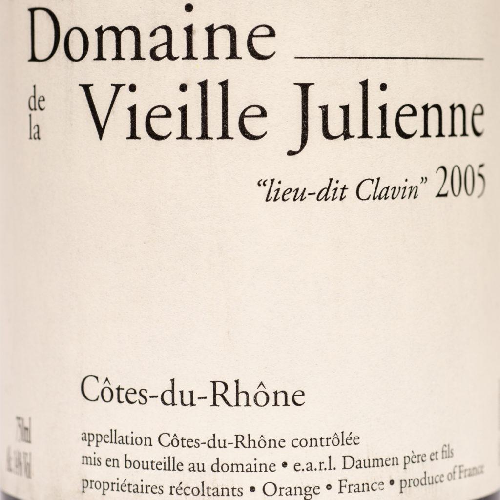 Cotes-du-Rhone 2005 - Domaine de la Vieille Julienne