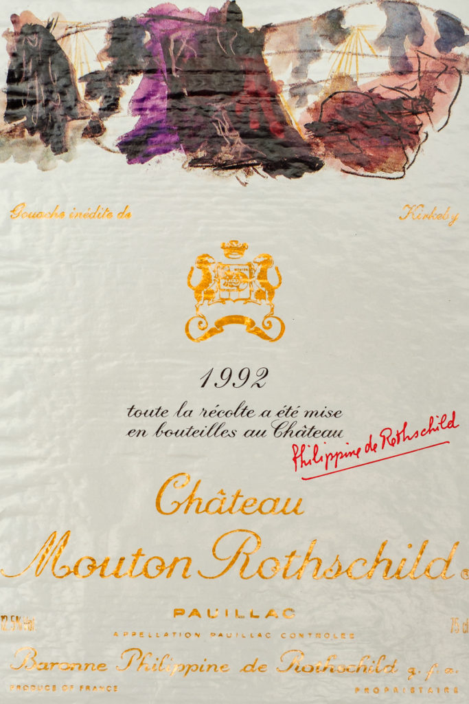 Chateau Mouton Rothschild 1992