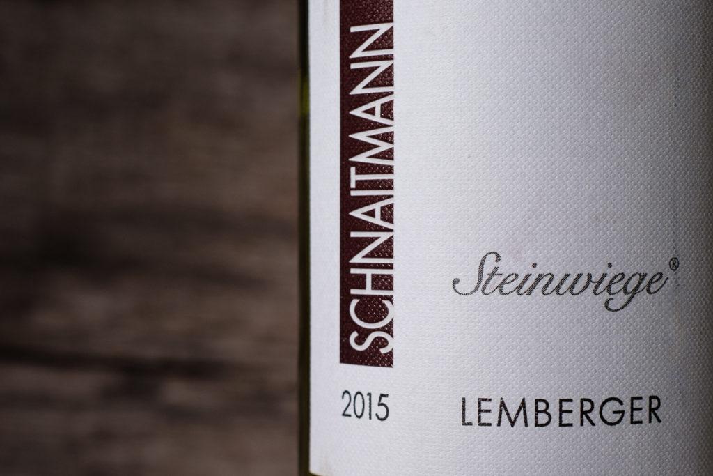 Steinwiege Lemberger 2015 - Weingut Schnaitmann