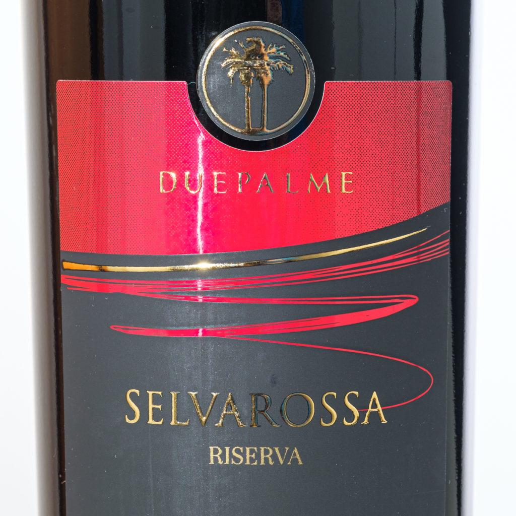 Selvarossa Riserva 2003 von Duepalme