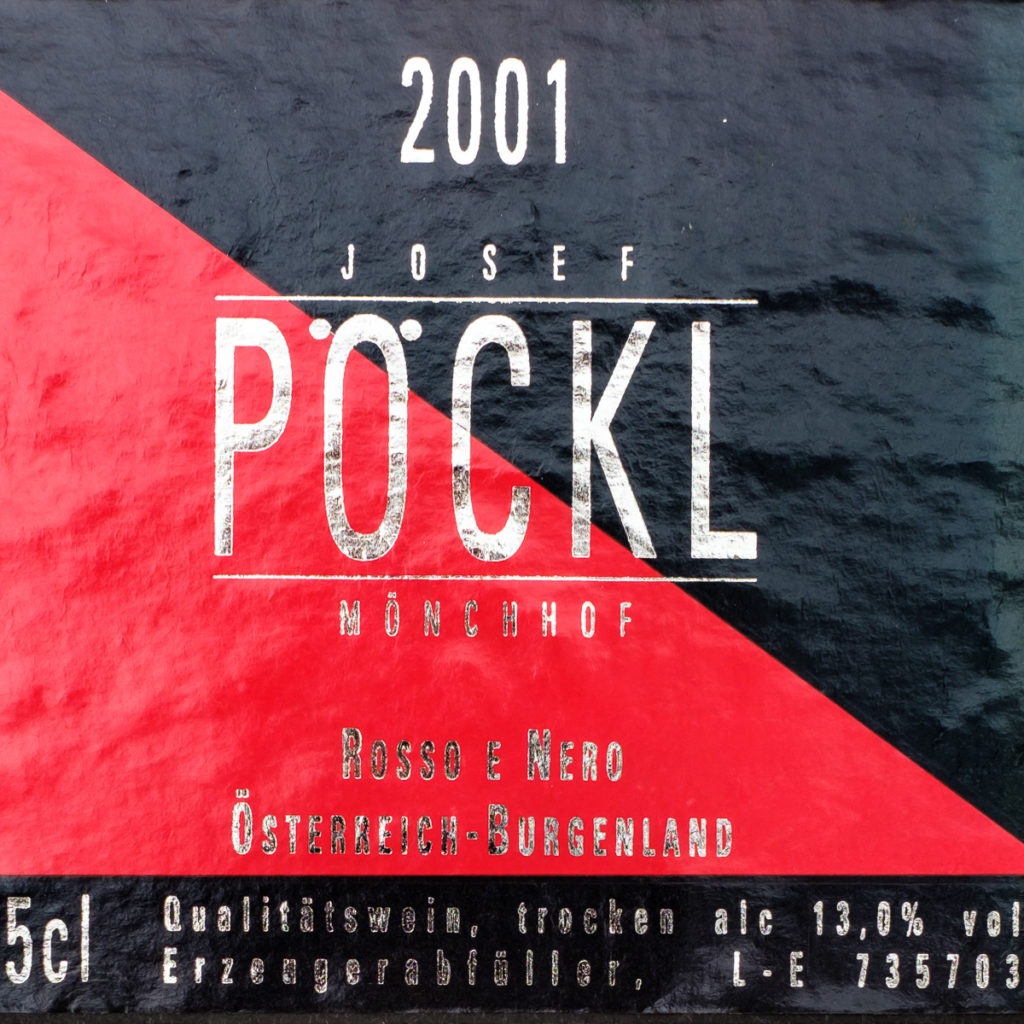 Rosso e Nero 2001 - Josef Pöckl