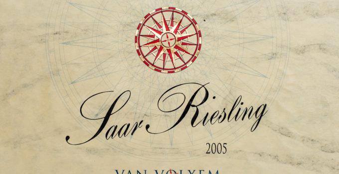 Saar Riesling 2005 - Van Volxem