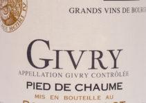 Givry Pied de Chaume 2007