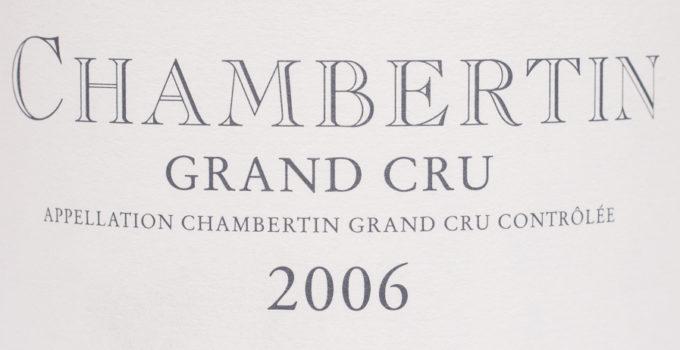 Chamtertin Grand Cru 2006