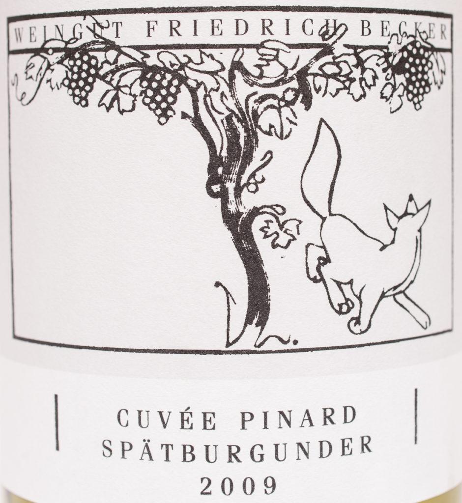 Cuvee Pinard Spätburgunder 2009
