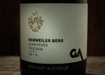 Hanweiler Berg Lemberger 2014