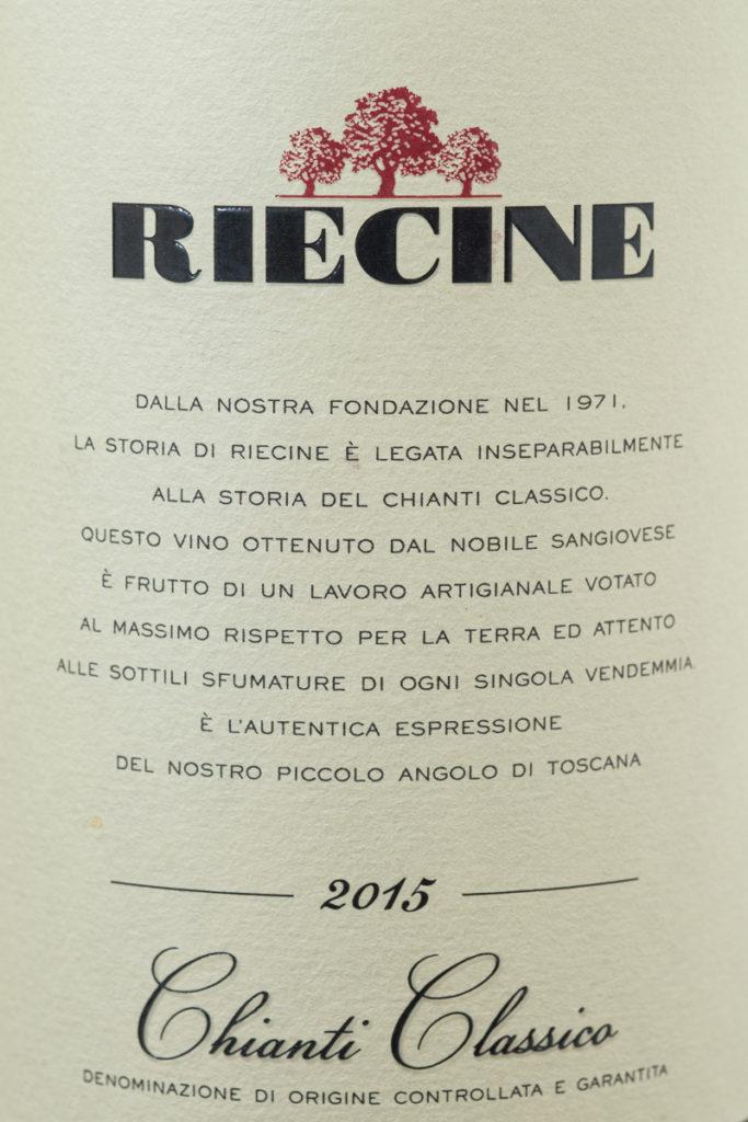 Riecine - Chianti Classico 2015
