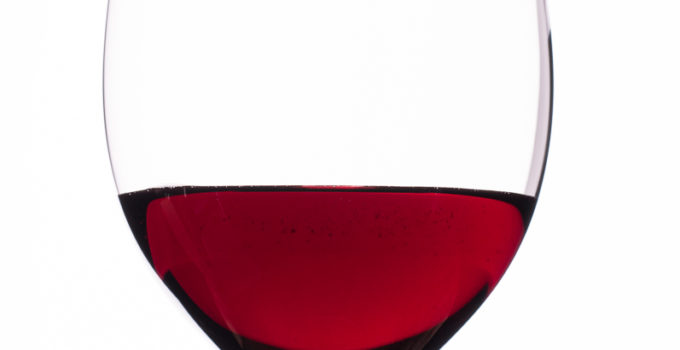 Rortwein im Weinglas