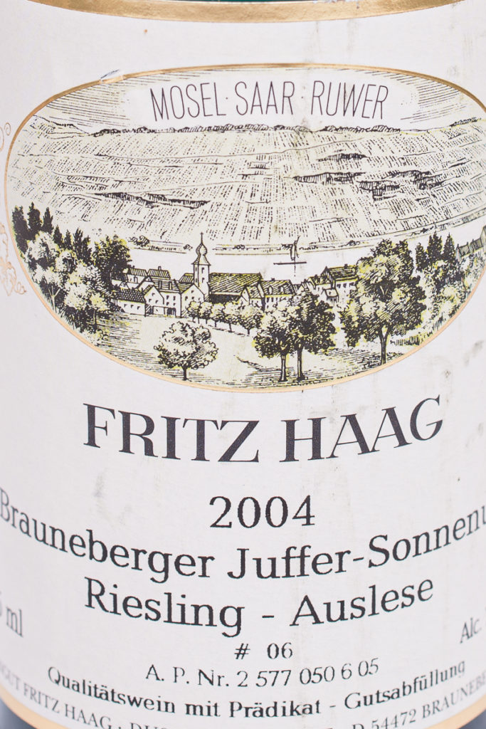 Brauneberger Juffer Sonnenuhr 2004
