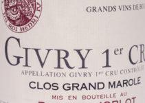 Givry 1er Cru Clos Grand Marole 2007