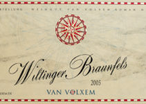 Wiltinger Braunfels 2005 - Van Volxem