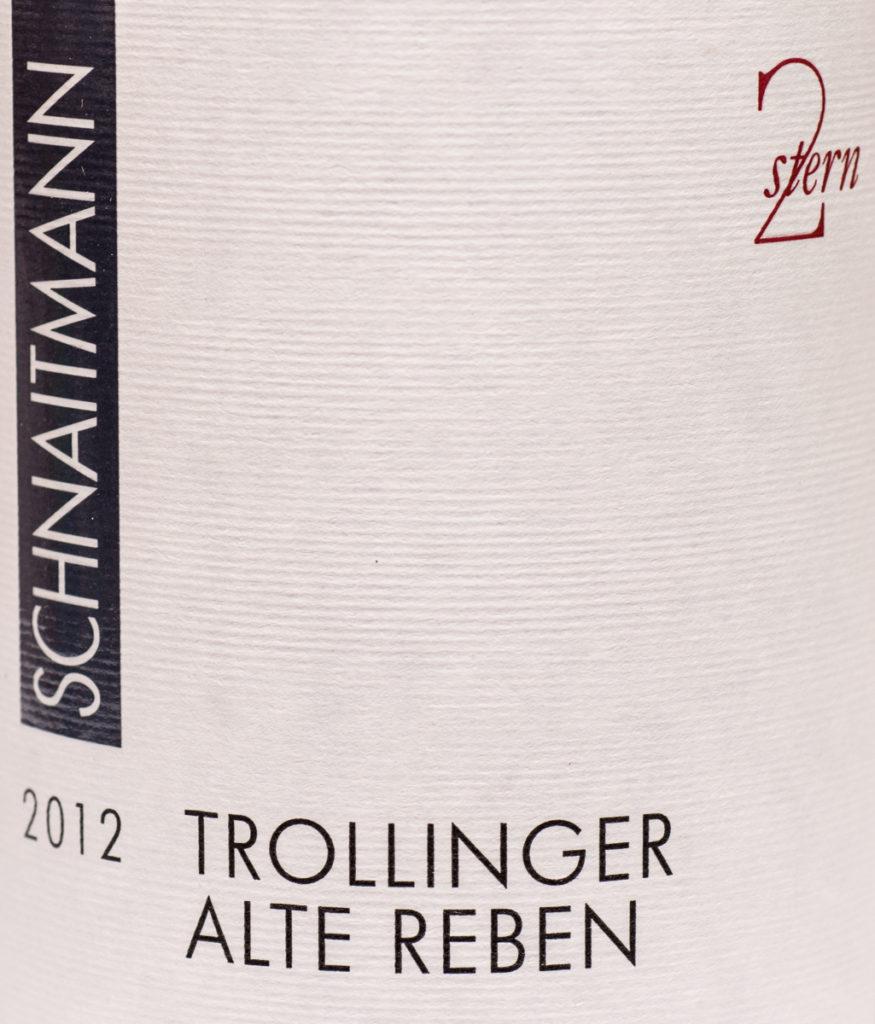 Trollinger Alte Reben 2012