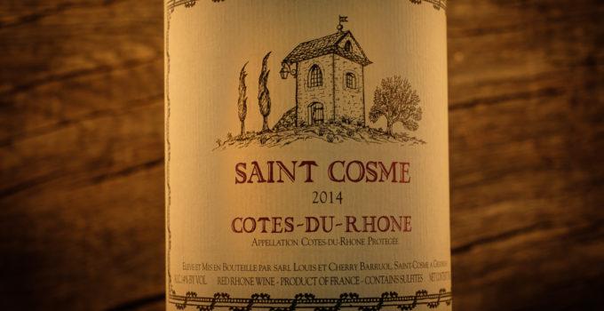 Cotes-du-Rhone 2014 - Saint Cosme