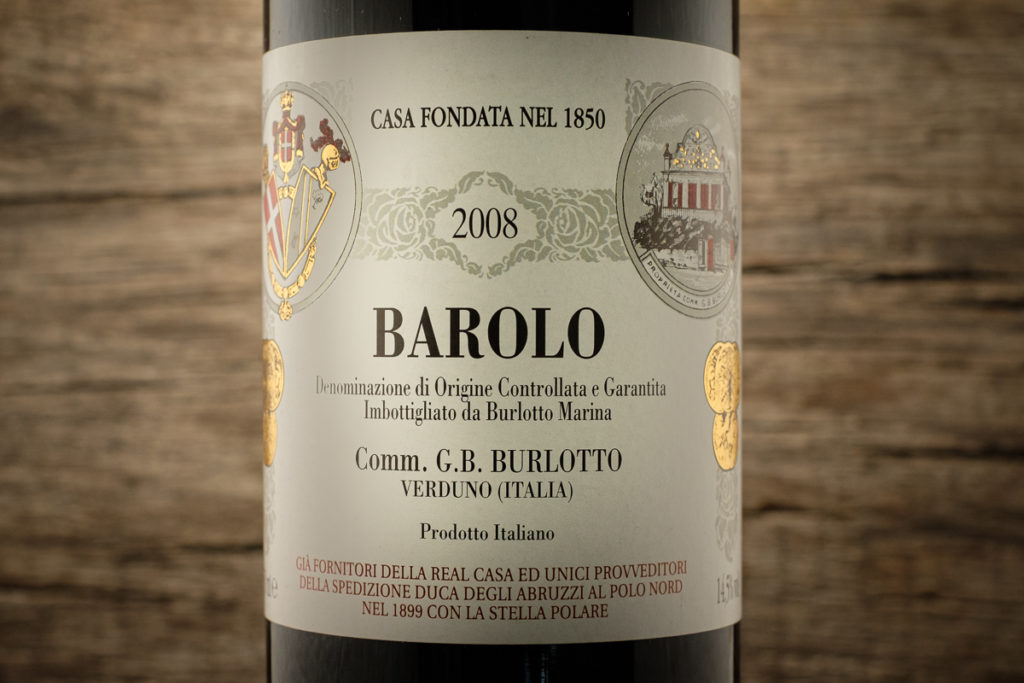 Barolo 2008 - Comm. G.B. Burlotto