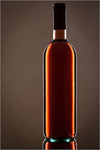 Notizbuch Weinflasche rot