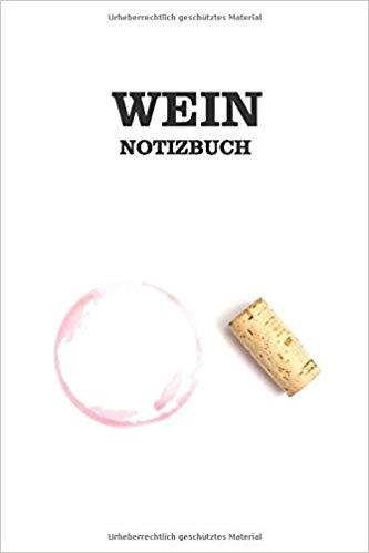 Notizbuch Rotweinfleck und Korken