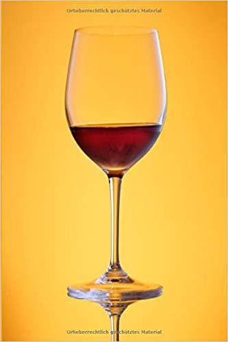 Notizbuch Weinglas