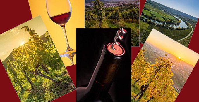 Notizbücher mit Wein Motiven