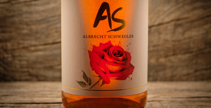 Rose trocken 2017 - Albrecht Schwegler