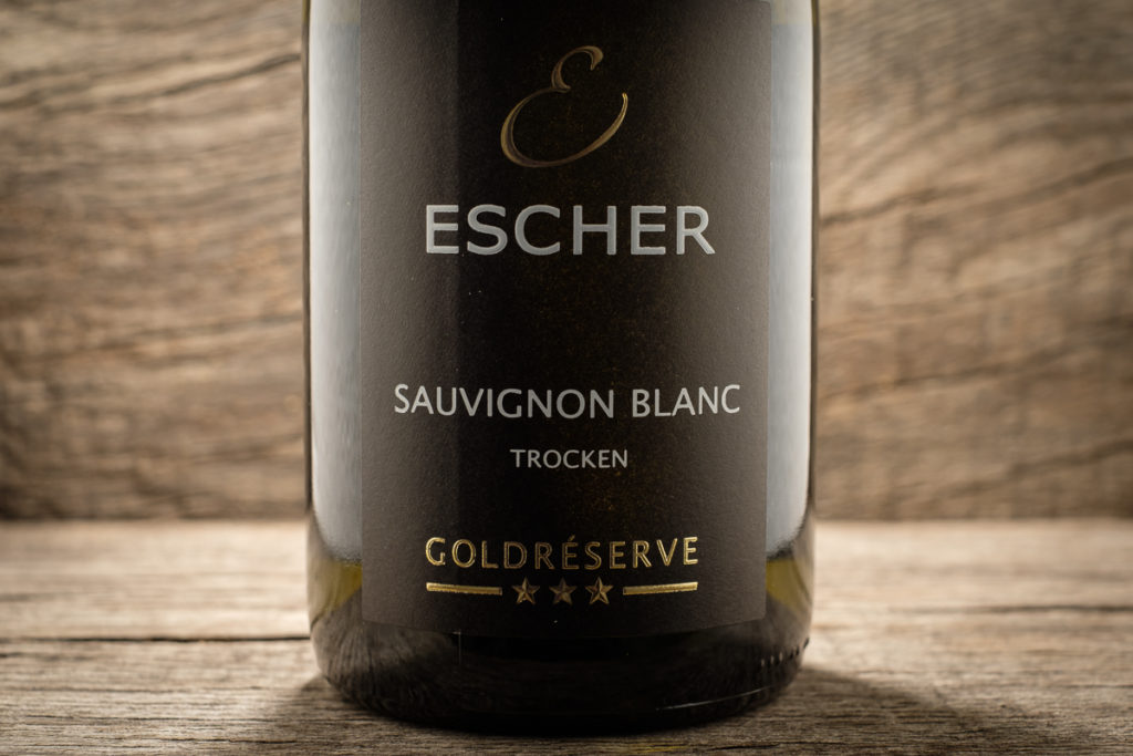 Sauvignon Blanc 2018 - Goldreserve - Weingut Escher