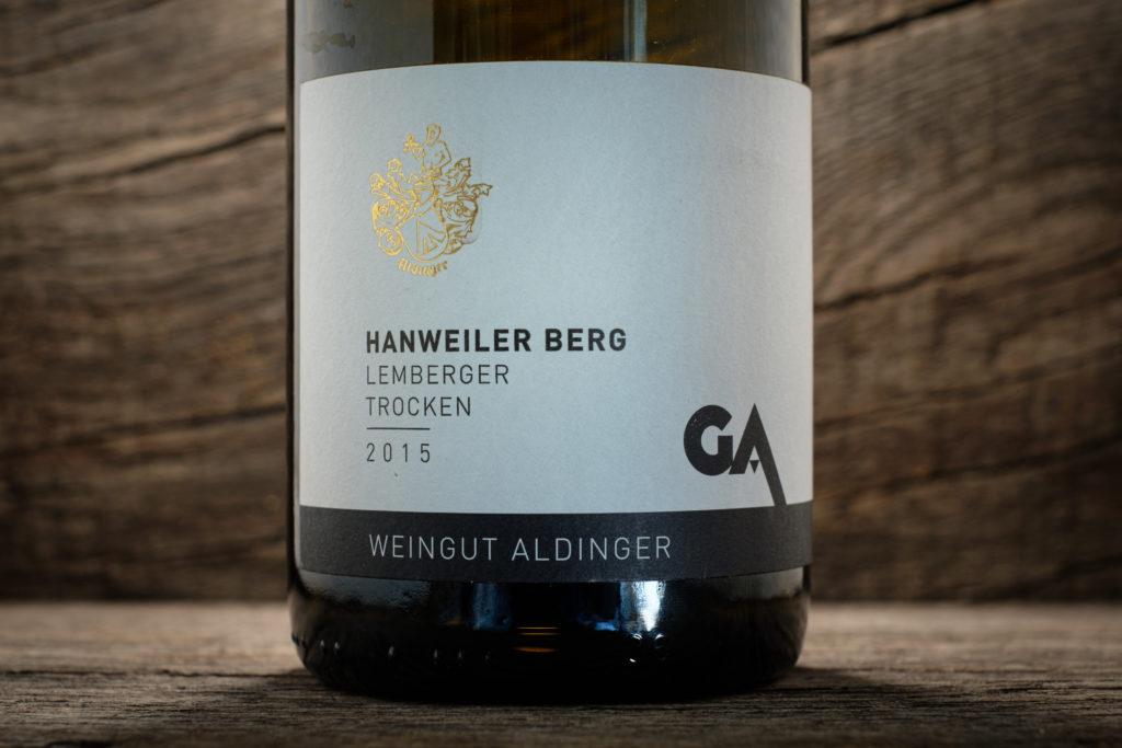 Hanweiler Berg Lemberger 2015 - Weingut Aldinger