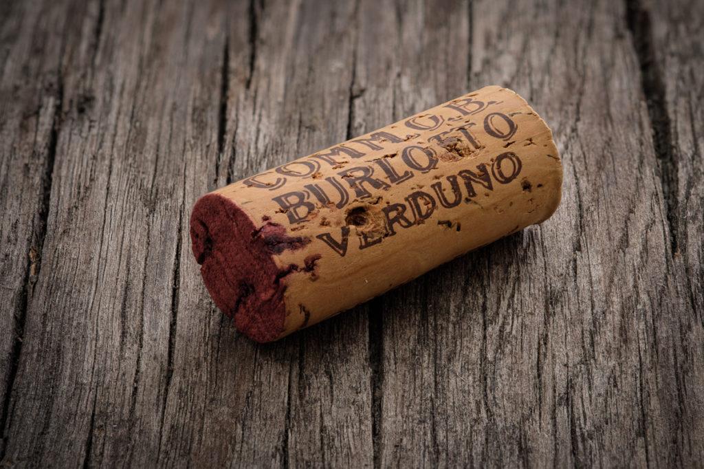 Weinkorken Comm. G.B. Burlotto Verduno