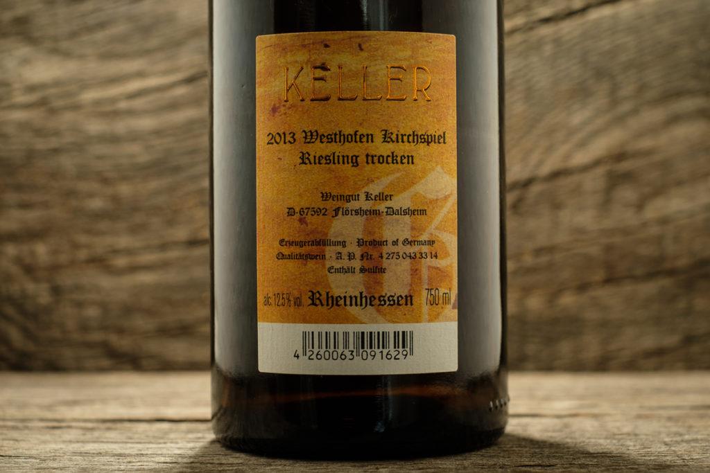 Westhofen Kirchspiel Riesling 2013 - Weingut Keller Rheinhessen