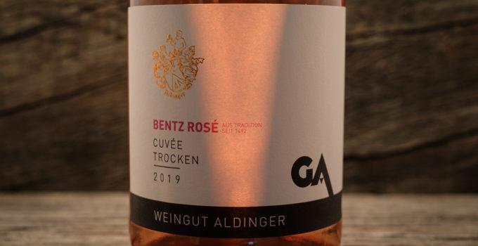 Bentz Rose Cuvee trocken 2019 - Weingut Aldinger
