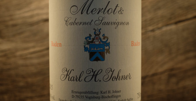 Merlot & Cabernet Sauvignon 2015 - Karl H Johner