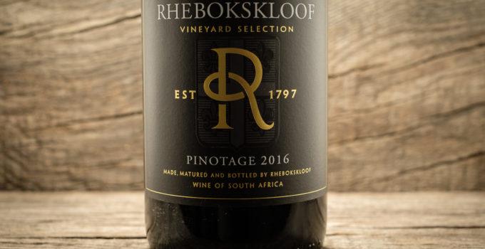 Pinotage 2016 - Rhebokskloof