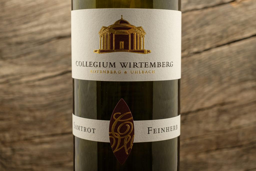 Samtrot feinherb 2017 - Collegium Wirtemberg