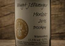 Merlot Hades 2016 - Weingut J. Ellwanger