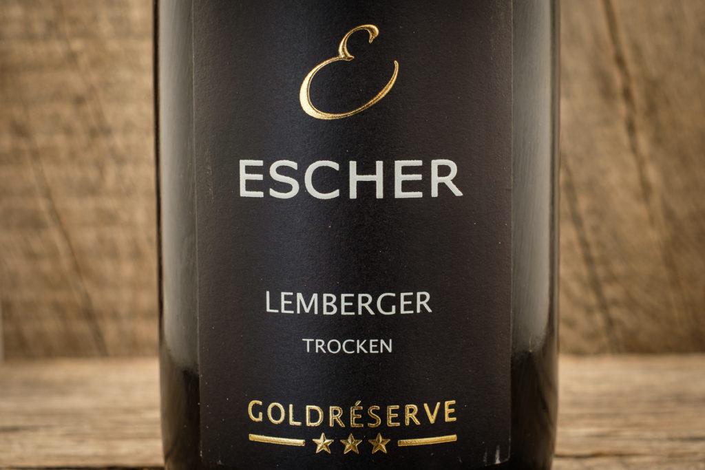 Lemberger Goldreserve 2017 - Weingut Escher