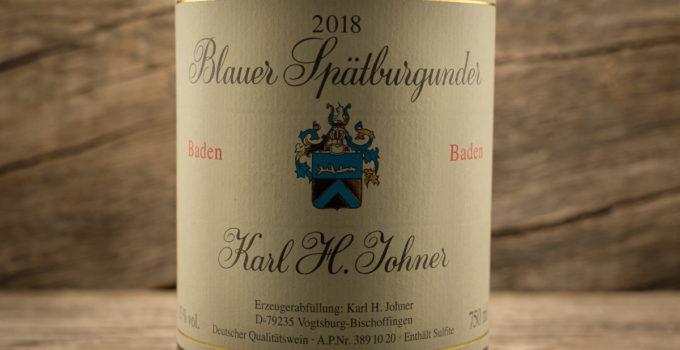 Blauer Spätburgunder 2018 - Karl H. Johner