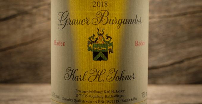 Grauer Burgunder 2018 - Karl H. Johner