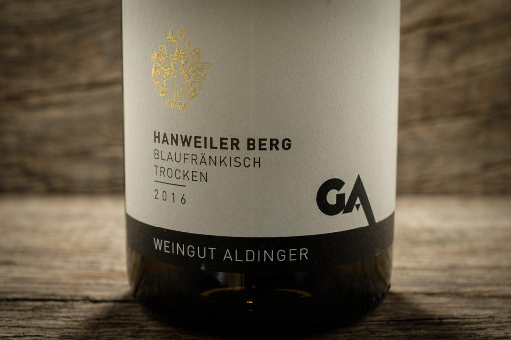 Hanweiler Berg Blaufränkisch 2016 - Weingut Aldinger