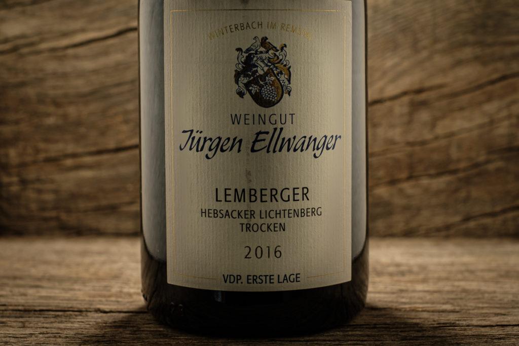 Lemberger Hebsacker Lichtenberg 2016 - Erste Lage - Jürgen Ellwanger
