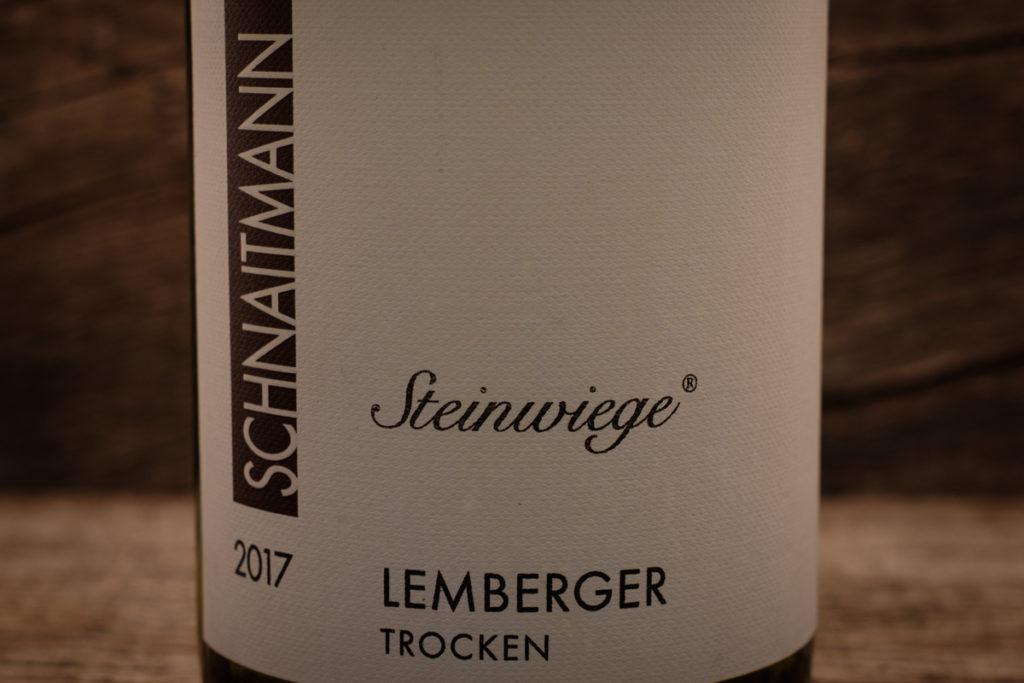 Steinwiege Lemberger 2017 - Weingut Schnaitmann