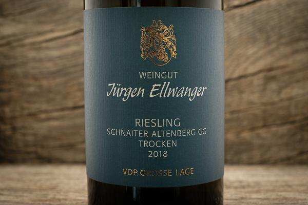 Riesling Schnaiter Altenberg GG 2018 - Jürgen Ellwanger