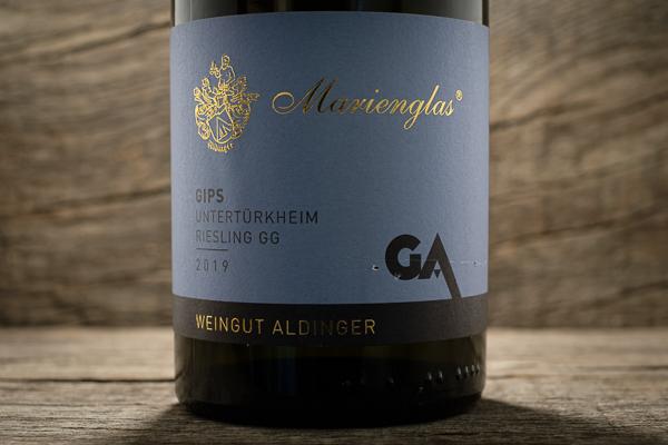 Untertürkheimer Gips Marienglas Riesling GG - Weingut Aldinger
