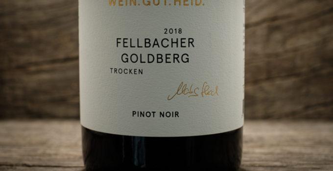 Fellbacher Goldberg Pinot Noir 2018 – Weingut Heid