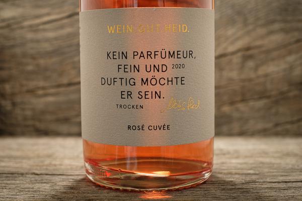 Rose Cuvee trocken 2020 - Weingut Heid