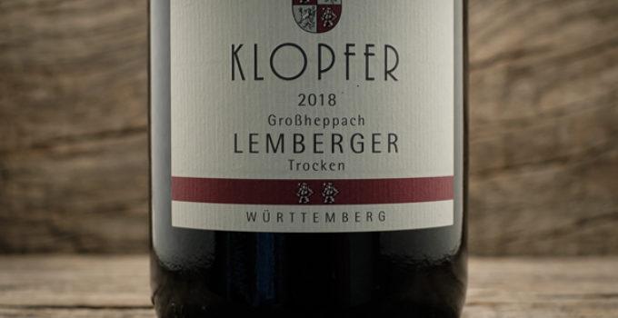 Lemberger Großheppach 2018 – Weingut Wolfgang Klopfer