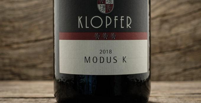 MODUS K 2018 – Weingut Wolfgang Klopfer