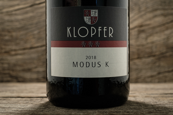 MODUS K 2018 - Weingut Wolfgang Klopfer