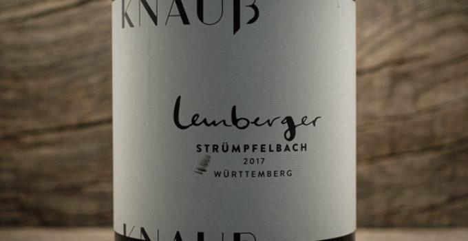 Lemberger Strümpfelbach 2017 – Weingut Knauß