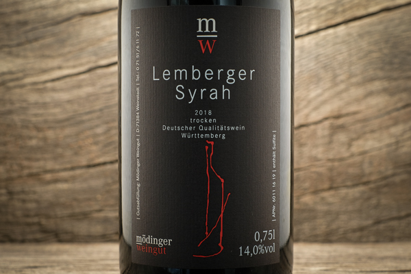 Lemberger Syrah 2018 - Weingut Mödinger