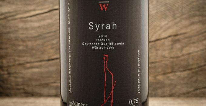 Syrah 2018 – Weingut Mödinger